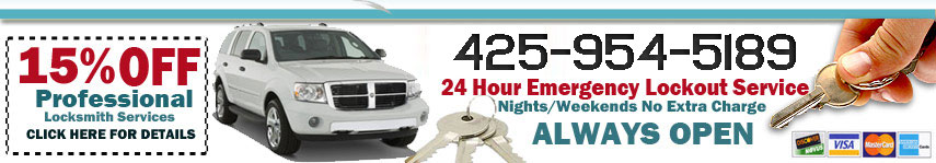 Professional Locksmith Bothell Wa